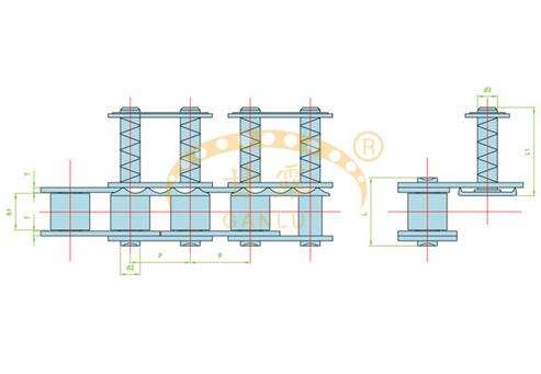 夹膜系列链
